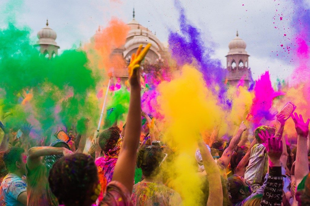 A thousand colours and more